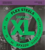 Фото - Струны DAddario XL FlexSteels Bass 40-95