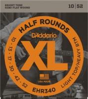 Струны DAddario XL Half Rounds 10-52