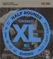 Фото - Струны DAddario XL Half Rounds Jazz 12-52