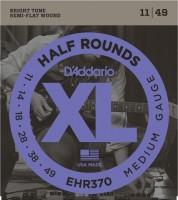 Струны DAddario XL Half Rounds 11-49