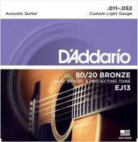 Фото - Струны DAddario 80/20 Bronze 11-52