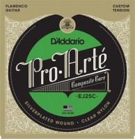 Фото - Струны DAddario Pro-Arte Clear Nylon Composite Flamenco 28-44