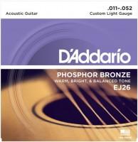 Струны DAddario Phosphor Bronze 11-52