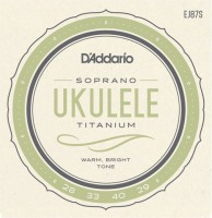 Струны DAddario Titanium Ukulele Soprano