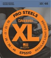 Струны DAddario XL ProSteels 10-46
