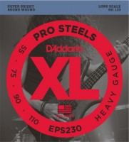 Струны DAddario XL ProSteels Bass 55-110