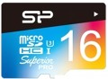 Карта памяти Silicon Power Superior Pro Color microSDHC UHS-I Class 10 16Gb