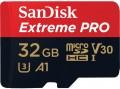 Карта памяти SanDisk Extreme Pro V30 A1 microSDHC UHS-I U3 32Gb