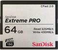 Карта памяти SanDisk Extreme Pro CompactFlash 2.0 64Gb