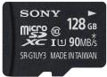 Карта памяти Sony microSDXC 90 Mb/s UHS-I U1 128Gb
