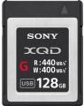 Карта памяти Sony XQD G Series 128Gb