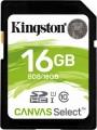 Карта памяти Kingston SDHC Canvas Select 16Gb