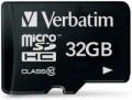 Карта памяти Verbatim microSDHC Class 10 32Gb