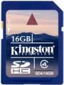 Карта памяти Kingston SDHC Class 4 16Gb