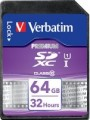 Карта памяти Verbatim SDXC Class 10 64Gb