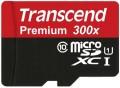 Карта памяти Transcend Premium 300X microSDXC UHS-I 64Gb