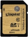 Карта памяти Kingston Ultimate SDHC UHS-I 16Gb