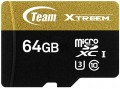 Карта памяти Team Group Xtreem microSDXC UHS-1 U3 64Gb