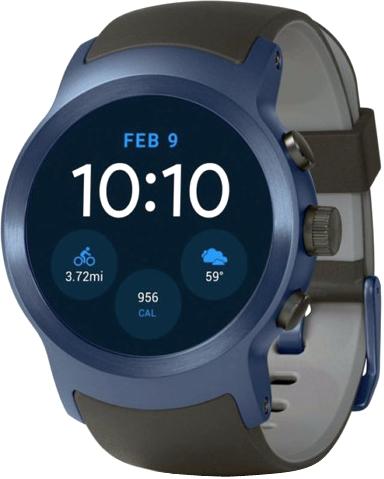 b21c3fd9c90d LG Watch Sport - купить носимый гаджет  цены, отзывы, характеристики    стоимость в магазинах Украины  Киев, Днепропетровск, Львов, Одесса