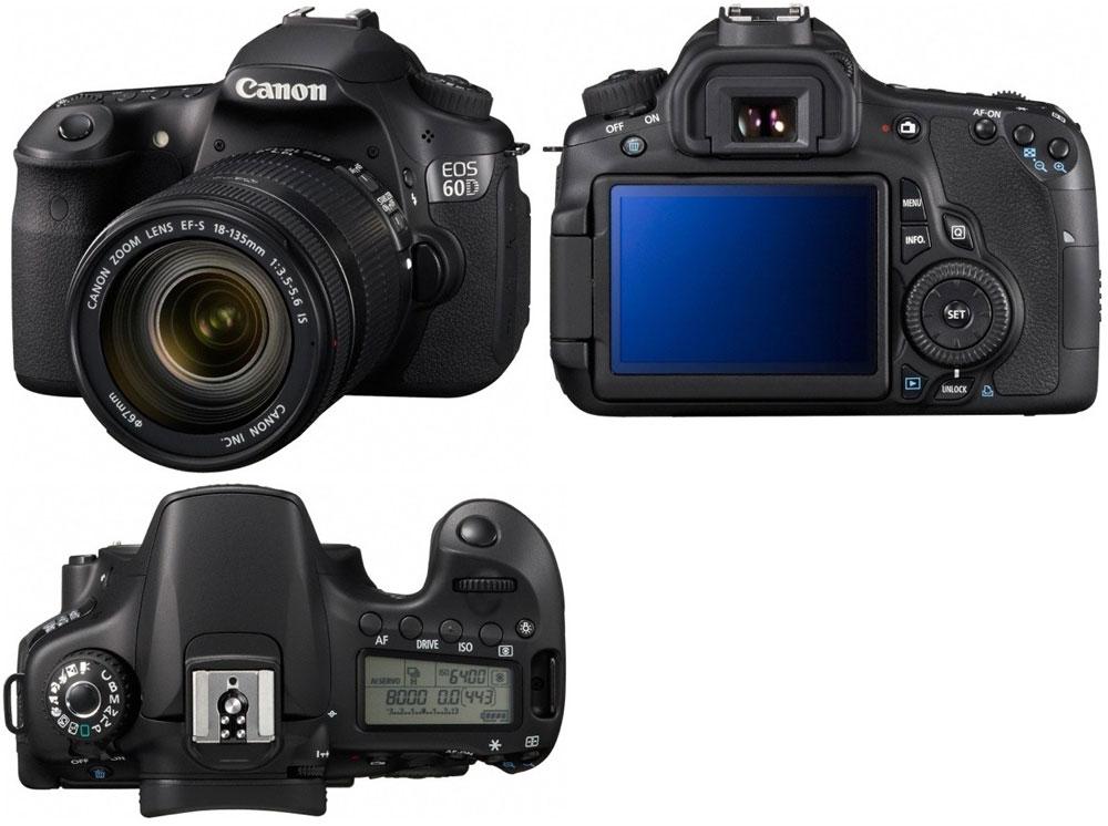 Инструкция к фотоаппарату canon 60d