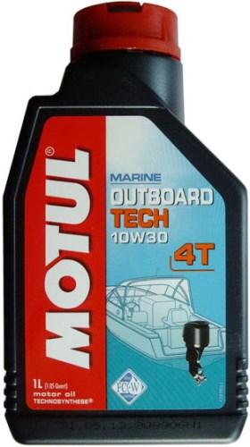 Моторное масло Motul Outboard TECH 4T 10W30 5л - фото 6