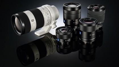 Набор оптики для полнокадровых беззеркалок Sony