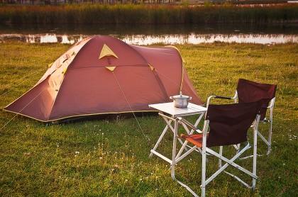 Ночь на природе. Как собрать палатку?