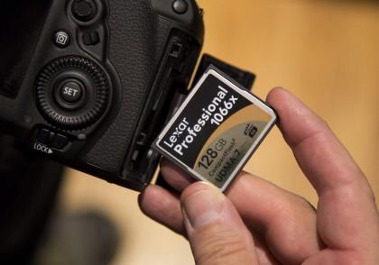 Накопители уровня Pro: пятерка карт памяти формата CF
