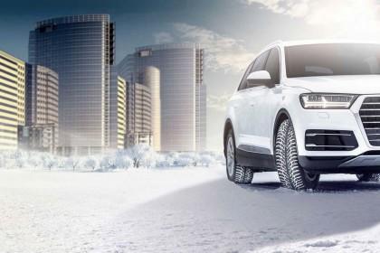 Серьезной машине — хорошую резину! Зимние шины R19 для SUV