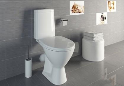 Простые решения для туалета: ТОП 5 напольных унитазов-компактов с бачком
