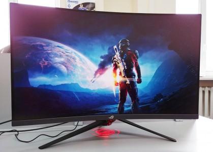 Пятерка лучших игровых мониторов с большой диагональю экрана