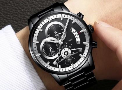Пятерка многофункциональных часов-хронографов для мужчин