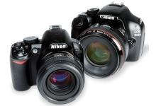 Canon и Nikon? Вечное соперничество