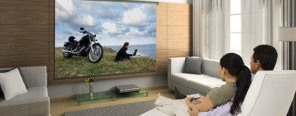 Домашний кинотеатр: панель или проектор?