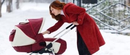 5 популярных детских колясок для зимы