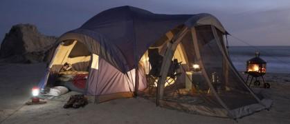 ТОП-5 двухместных палаток для туристов