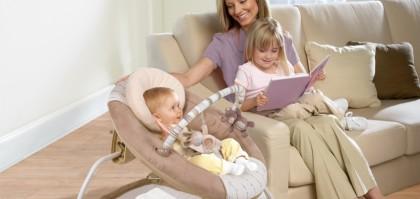 Если ребенок непоседа: лучшие кресла-качалки