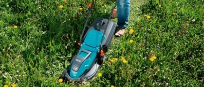 5 хороших электрических газонокосилок