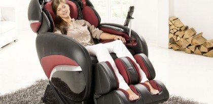 Что может современное массажное кресло?