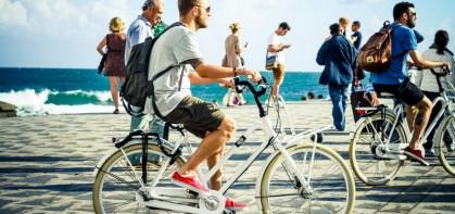 Городской транспорт: 5 мужских велосипедов