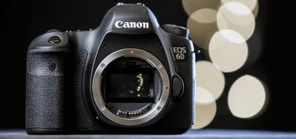 ТОП-5 доступных полнокадровых фотокамер