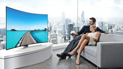 Будь в тренде! ТОП-5 телевизоров с изогнутым экраном