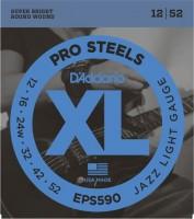 Струны DAddario XL ProSteels Jazz 12-52