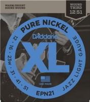 Струны DAddario XL Pure Nickel Wound Jazz 12-51