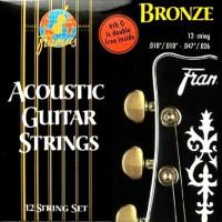 Струны Framus Bronze Acoustic 12-String 10-47