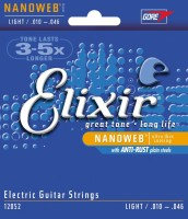 Струны Elixir Electric Nanoweb Light 10-46