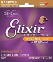 Струны Elixir Acoustic Phosphor Bronze Custom Light 11-52