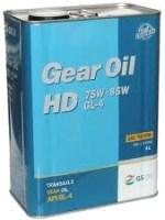Фото - Трансмиссионное масло Kixx Geartec FF GL-4 75W-85 4л