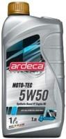 Моторное масло Ardeca Moto-Tec 5W-50 1L 1л