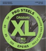 Струны DAddario XL ProSteels Bass 45-105